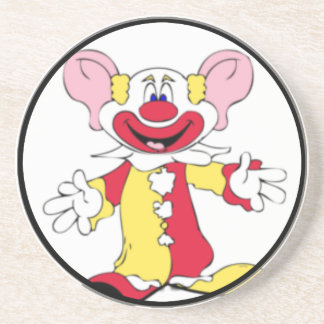 Big Ears Clown Drink Coaster