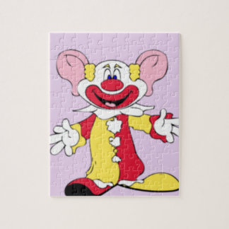 Big Ears Clown Jigsaw Puzzle
