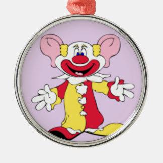 Big Ears Clown Metal Ornament