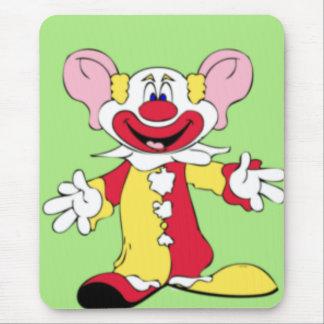 Big Ears Clown Mouse Pad