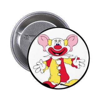 Big Ears Clown Pinback Button