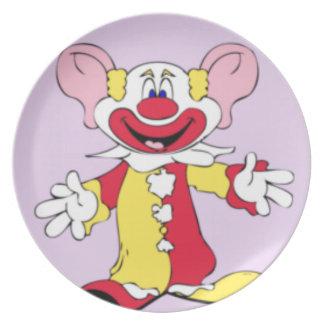 Big Ears Clown Plate