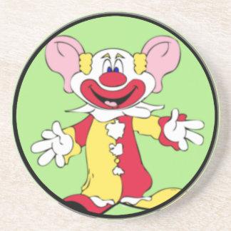 Big Ears Clown Sandstone Coaster
