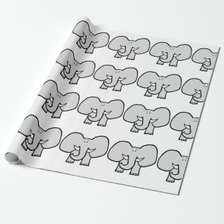 Big Ears the Elephant Wrapping Paper