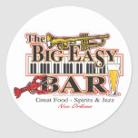 Big-Easy-Bar-3-[Converted] Round Stickers