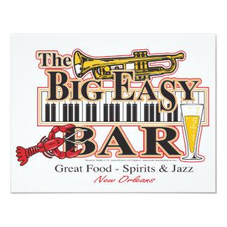 """Big-Easy-Bar-3- [convertido] Invitación 4.25"""" X 5.5"""""""
