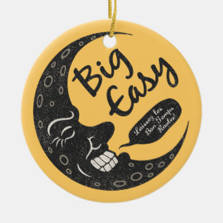 Big Easy Crescent Ceramic Ornament