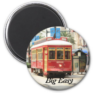 BIG EASY, NEW ORLEANS STREETCAR MAGNET