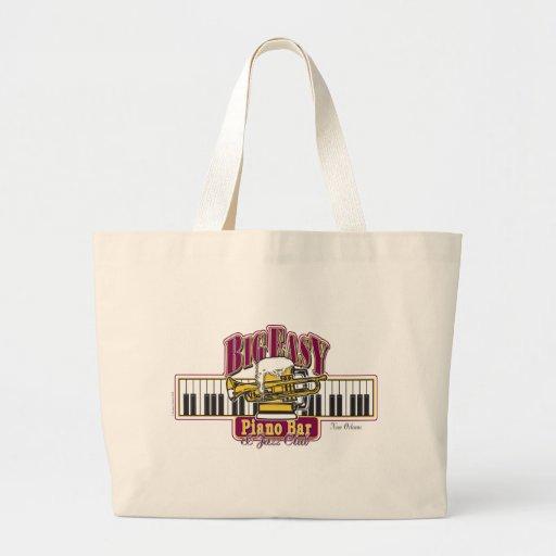 BIG-EASY-Piano-BAR- Jumbo Tote Bag