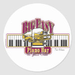BIG-EASY-Piano-BAR- Round Stickers