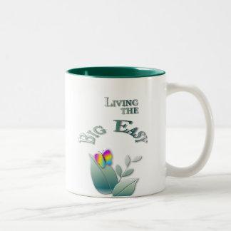 Big Easy Two-Tone Coffee Mug