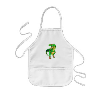 BIG EATER - KIDS DINOSAUR APRON - OPEN UP WIDE!