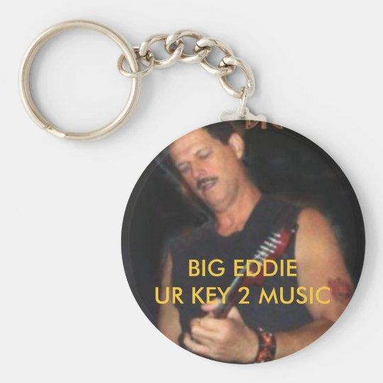 BIG EDDIE UR KEY 2 MUSIC KEYCHAIN
