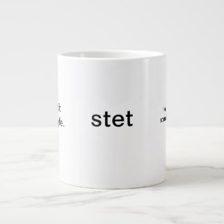 big editor's mug