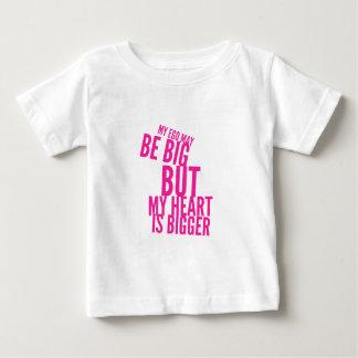 Big Ego, Bigger Heart Baby T-Shirt