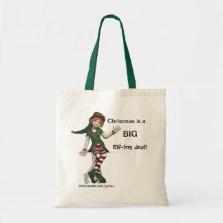 Big Elf-ing Deal Tote Bag