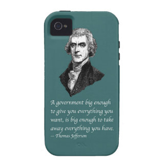 BIG ENOUGH GOVERNMENT iPhone 4/4S COVER