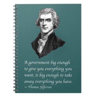 BIG ENOUGH GOVERNMENT NOTEBOOKS