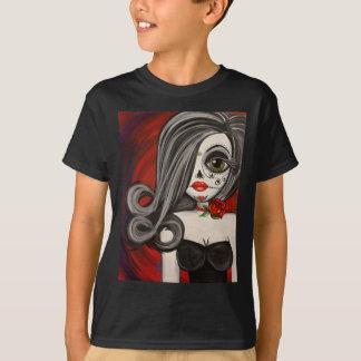Big Eye Art Day of the Dead Sugar Skull T-Shirt