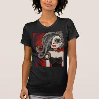 Big Eye Art Day of the Dead Sugar Skull Tee Shirt
