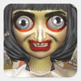 Big Eye Bula Square Sticker