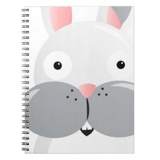 Big Eye Bunny Notebooks