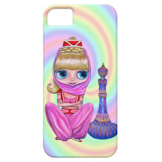 Big Eye Genie in Pink with Magic Bottle iPhone 5 Cases