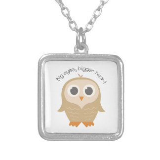 Big Eye Owl Custom Jewelry