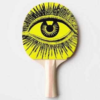 Big Eye See You Hypnosis Hospital ICU Ping-Pong Paddle