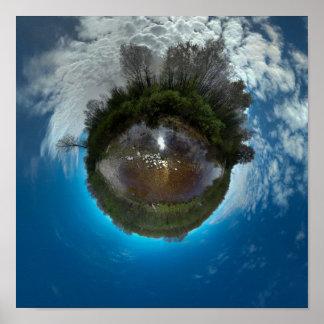Big Eyeball in the Sky Poster