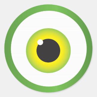Big Eyeball Sticker