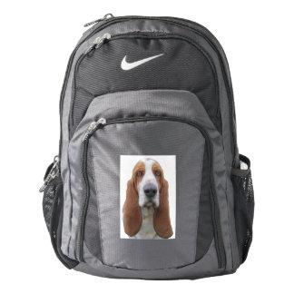 Big Eyed Basset Hound Nike Backpack