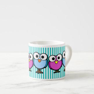 Big-eyed Birdies Espresso Cup