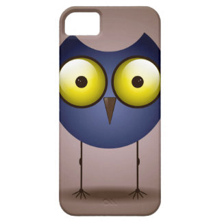 Big Eyed Blue Owl iPhone 5 Cover
