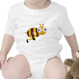Big Eyed Cartoon Bee Bodysuits