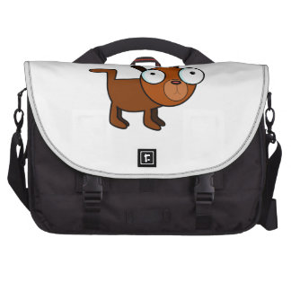 Big-Eyed Cartoon Dog Computer Bag