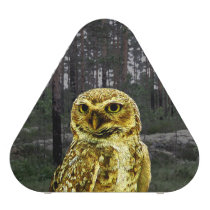 Big Eyed Owl in the Woods Bluetooth Speaker