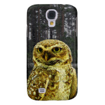 Big Eyed Owl in the Woods Galaxy S4 Case