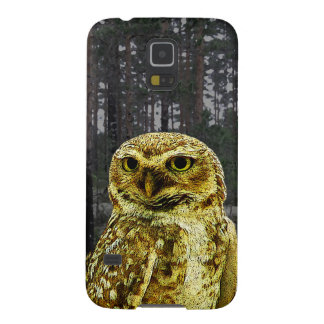 Big Eyed Owl in the Woods Galaxy S5 Case