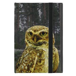 Big Eyed Owl in the Woods iPad Mini Case