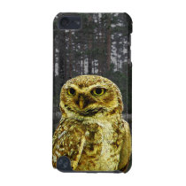 Big Eyed Owl in the Woods iPod Case