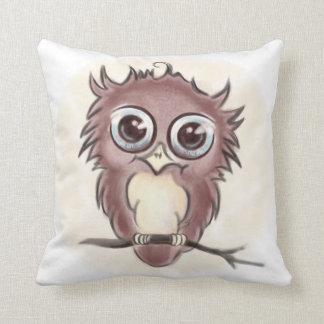 Big-eyed Throw Pillow