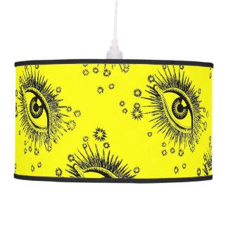 Big Eyes 3rd Eye Odd Hipster Graphic Art Design Pendant Lamp