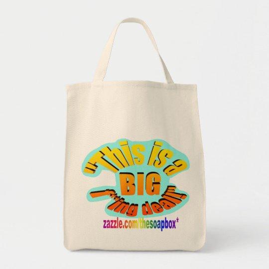 BIG F-ing Deal Tote Bag