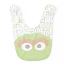 Big Face Baby Oscar the Grouch Baby Bib