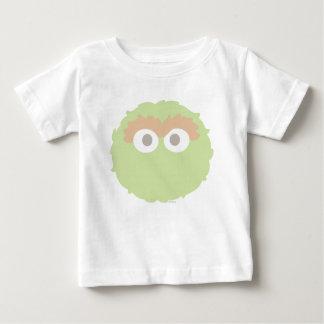 Big Face Baby Oscar the Grouch Baby T-Shirt