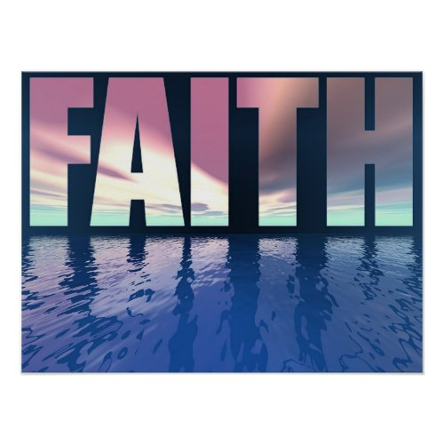 Big Faith print