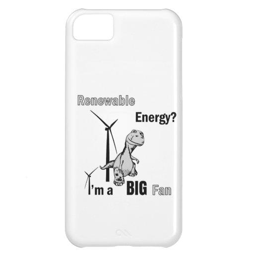 Big Fan of Renewable Energy iPhone 5C Covers