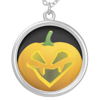 Big Fanged Jack O Lantern Necklace