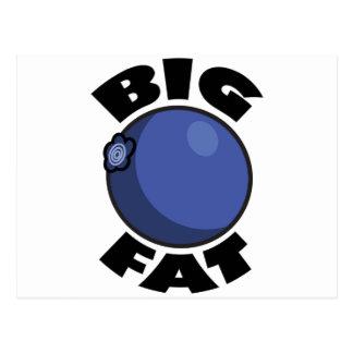 Big Fat Blueberry Media Schwag Postcard